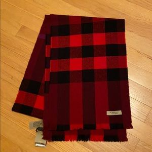 Winter Burberry scarf